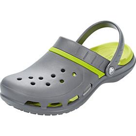 Crocs MODI Sport Clogs Unisex Graphite/Volt Green